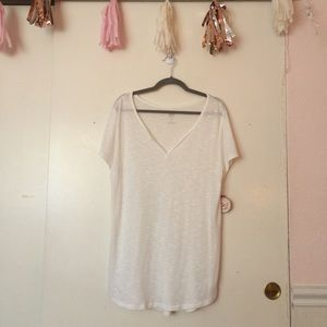 SO Relaxed White Tee Shirt